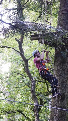 spass im kletterwald aurich 2